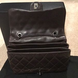 67737a147dc605 CHANEL Bags | Lambskin Quilted 3 Accordion Flap Brown | Poshmark